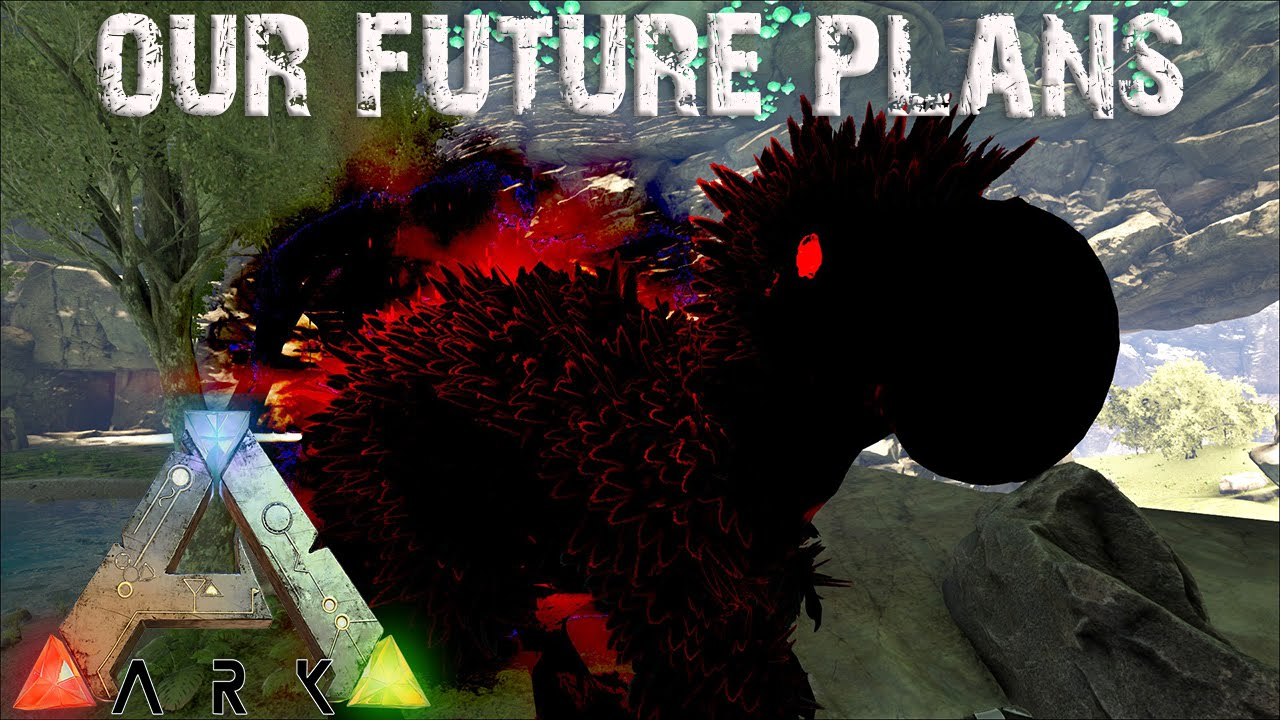 ARK Survival Evolved   Future Plans And Psycho The Admin Dodorex! Annunaki  Genesis Modded S1E33   YouTube