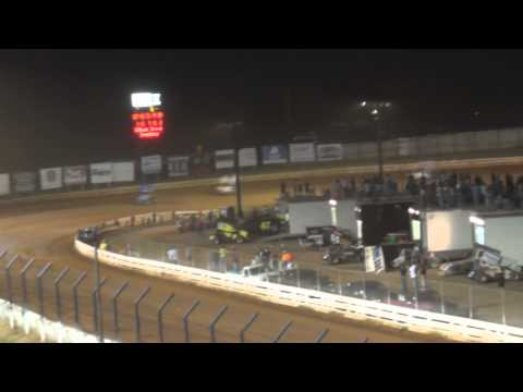 Williams Grove Speedway PA Speedweek 410 Sprint Car Highlights 7-05-13