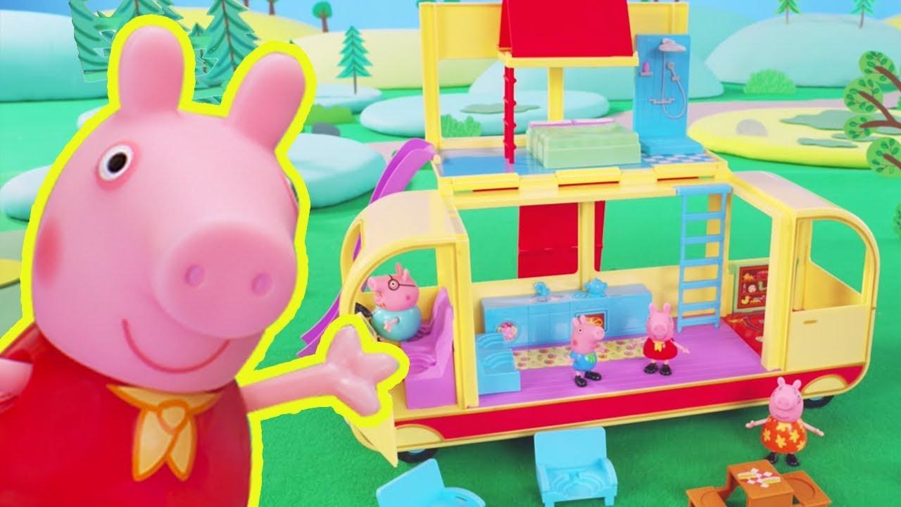 Peppa Pig Toys Peppa Pig Transforming Camper Van Playset