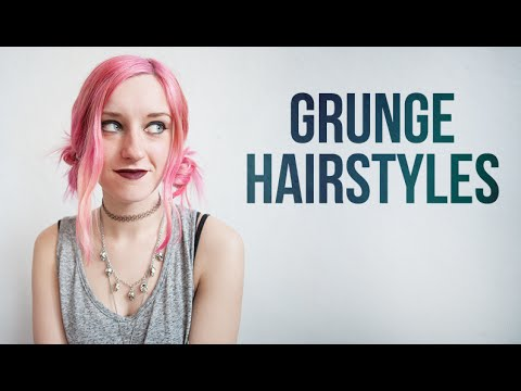 90s grunge hairstyles rocknroller youtube