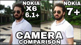 Nokia X6/Nokia 6.1 Plus vs Nokia 7 Plus Camera Comparison|Nokia 6.1 Plus Camera Review|Nokia X6