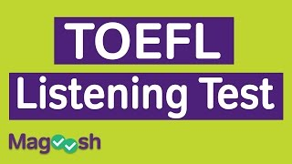 TOEFL Listening Practice Test