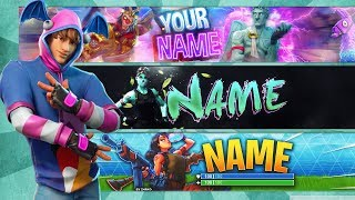 ⭐ TOP 5 FORTNITE BANNER TEMPLATE ⭐ **Free Download!!! 😱 ** Photoshop CC & CS6 | 2019
