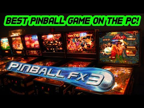 Pinball FX3 - Best Pinball Game on the PC! - 10 Tables Gameplay HD