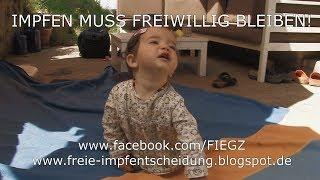 IMPFEN MUSS FREIWILLIG BLEIBEN! Demo, Berlin, 16.9. 2017
