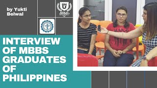2 Indian Girls Sharing MBBS in Philippines Experience | Yukti Belwal