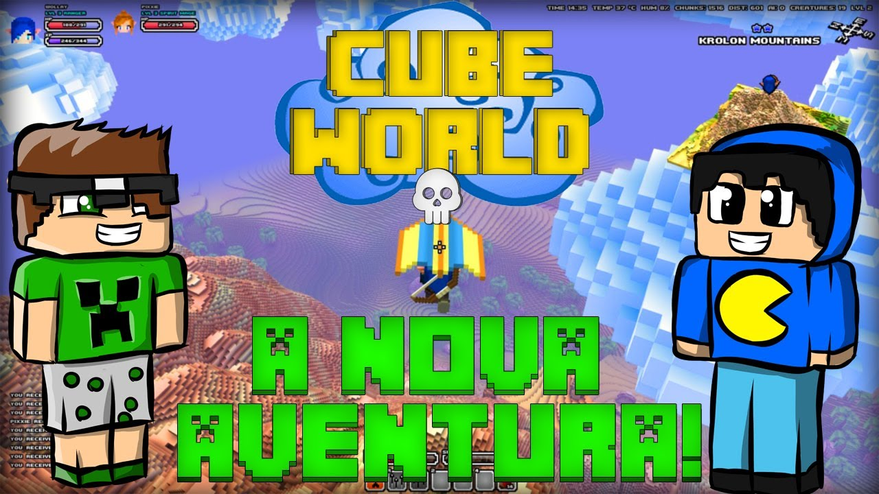 how to play cube world multiplayer