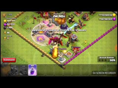 Clash Of Magic Server 4 Gameplay  And Raiding With Dragons And Bowler