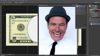 Уроки По Фотошопу: Ставим Ваше Лицо На Бумажные Деньги