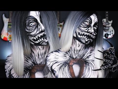 Scary Metallica Makeup Tutorial