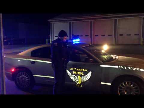 Cop Blocking Ohio State Patrol And Zanesville Police In Zanesville Ohio