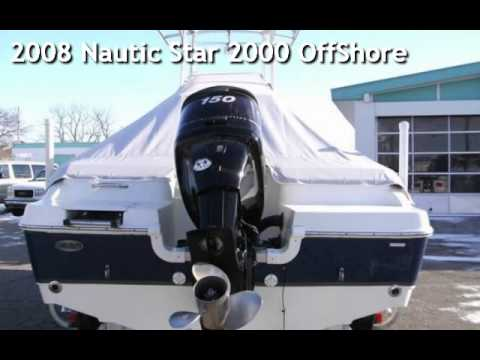2008 Nautic Star 2000 OffShore for sale in Angola, IN