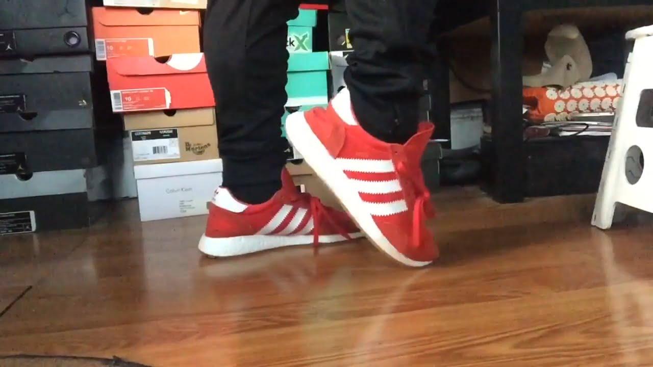 8c294eee0f19 Adidas Iniki Runner Red White