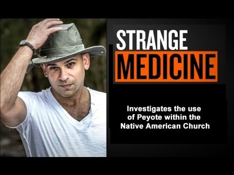 STRANGE MEDICINE - PEYOTE - OKLEVUEHA NATIVE AMERICAN CHURCH