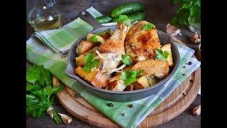Самая вкусная курица запеченая в духовке с хлебом. Рецепты вкусных блюд из курицы. Рецепты.