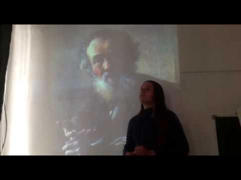 Изображение предпросмотра прочтения – ЕкатеринаПортнова читает произведение «Стихотворение в прозе Нищий» И.С.Тургенева