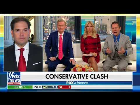 On Fox and Friends, Rubio discusses healthcare and tax reform