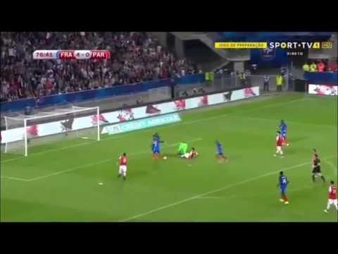 BUT ANTOINE GRIEZMANN FRANCE PARAGUAY 5-0