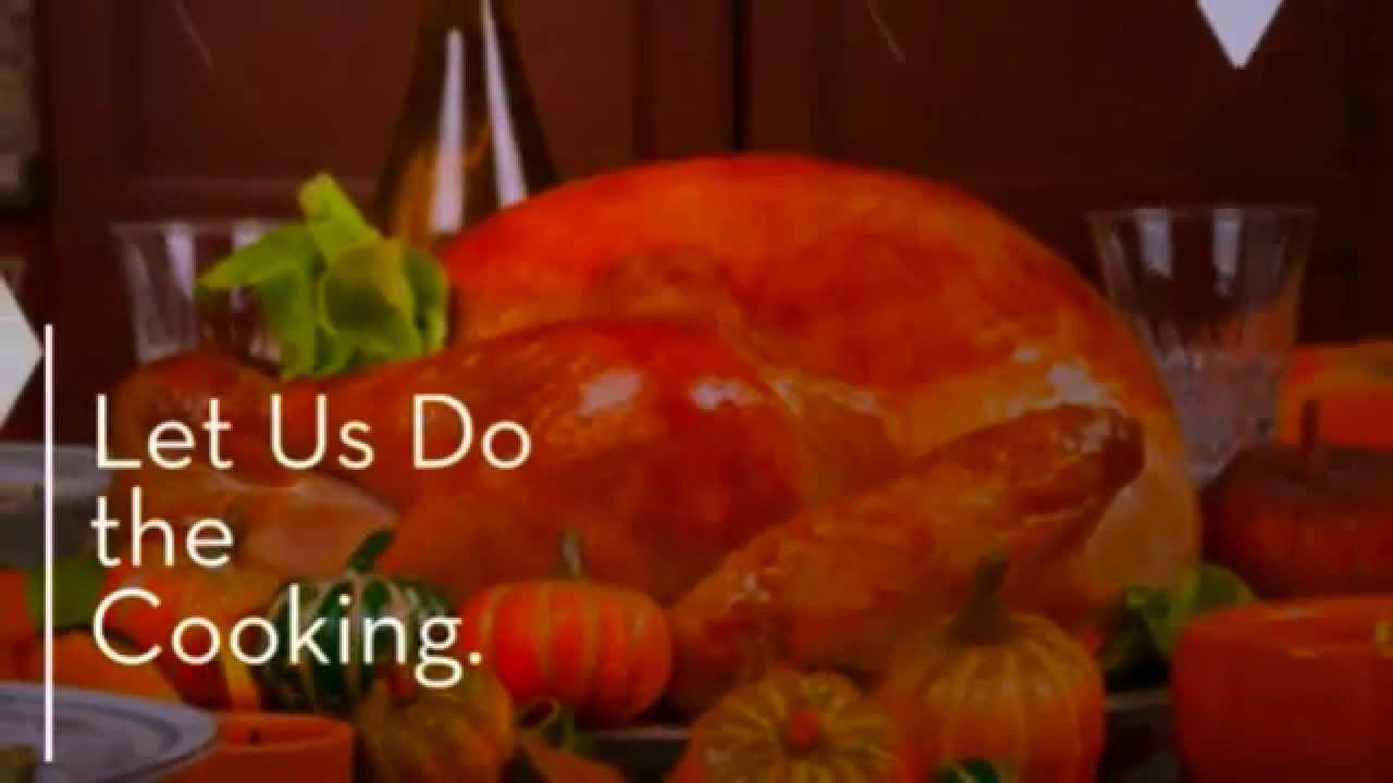 catered thanksgiving dinner washington dc