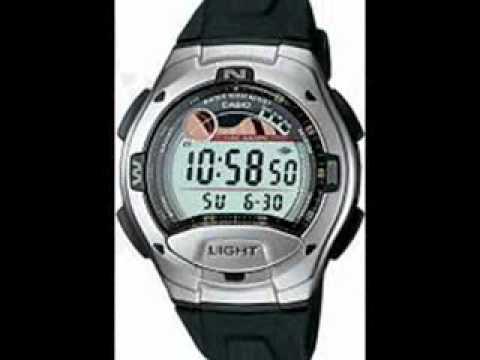fd8187316d6b9 Casio W-753-1AVES Mens Digital Resin Strap Watch - YouTube
