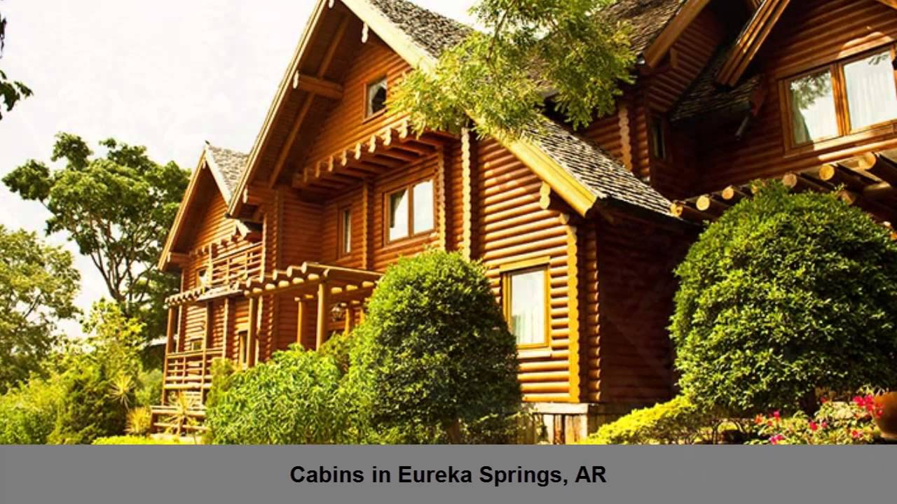 cabins at sugar mountain cabins eureka springs ar - youtube