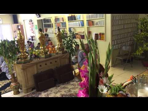 Chua Pho Da Son St. Pete., FL - Le Vu Lan August 16, 2015