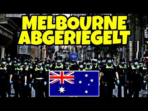 Australien: Melbourne's Stadtzentrum wird abgeriegelt