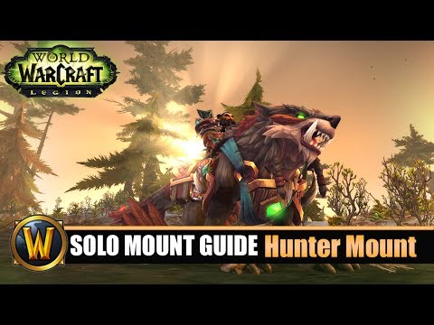 Telars Solo Mount Guide #55 Hunter Class Mount (7.2.5)