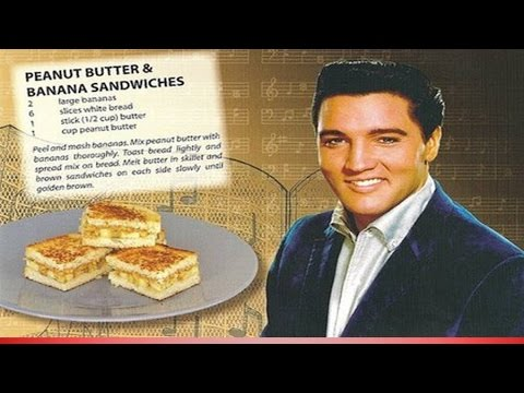 Elvis's peanut butter & banana sandwiches
