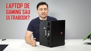 UNBOXING & REVIEW – MSI GS63VR 7RF Stealth Pro – Ultrabook sau laptop de gaming?