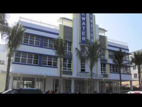 Travel Videos. South Beach (Miami Beach) Hotels & Restaurants. Art Deco.