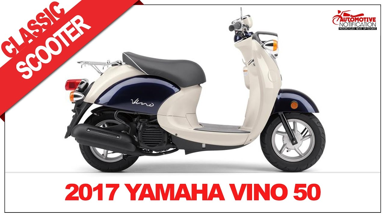 2017 yamaha vino 50 classic scooter price specs review youtube. Black Bedroom Furniture Sets. Home Design Ideas