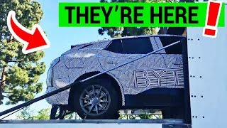 BYTON Factory Delivers US Prototypes of its Electric SUV M-Byte