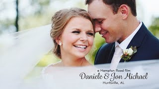 Huntsville, AL Wedding // Daniele & Jon Michael