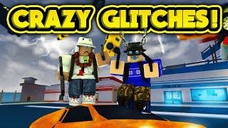 CRAZY GLITCHES IN JAILBREAK! (ROBLOX Jailbreak)