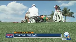 What's in a PGA Tour pro's golf bag?