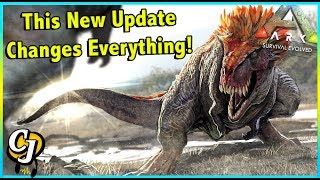 THIS NEW ARK UPDATE MAKES THE GAME 20X BETTER, ITS AMAZING! || ARK SURVIVAL EVOLVED!