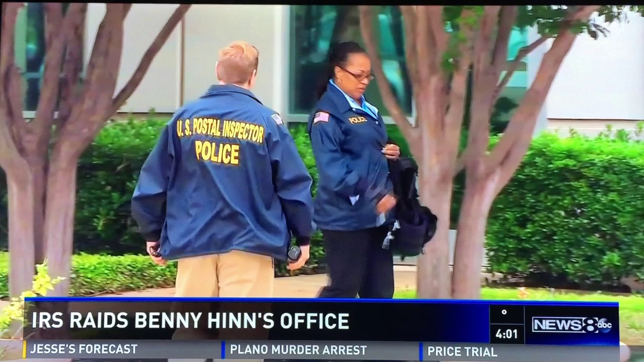 Image result for benny hinn irs