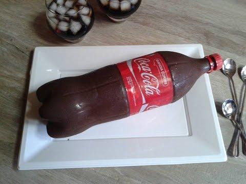 Torta bottiglia coca cola,Gâteau façon bouteille de Coca Cola