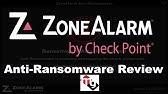 Sandblast Agent WannaCry Ransomware - YouTube
