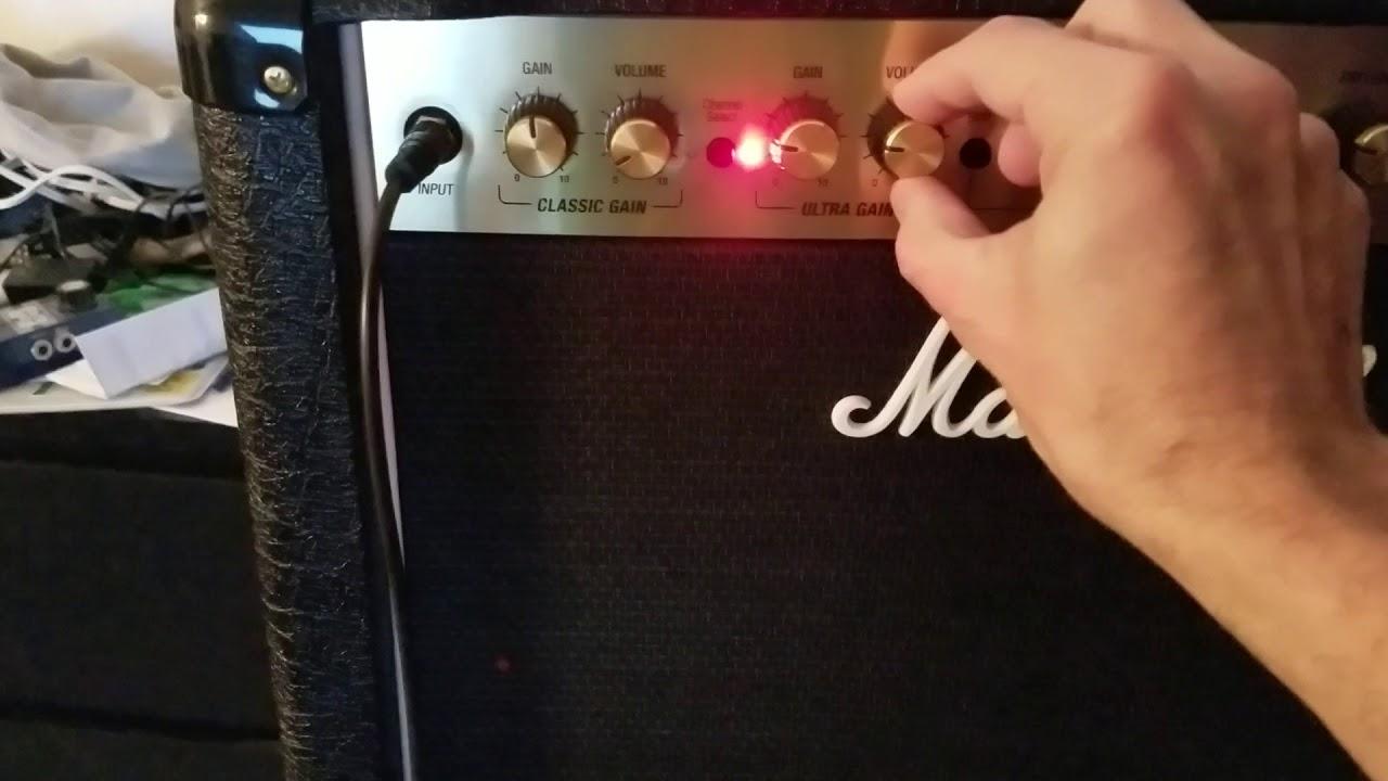 Hissing Noise In Brand New Dsl40c | MarshallForum com
