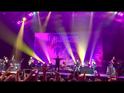 Killswitch Engage: with Howard Jones 10th August 2018 London (the end of Heartache)