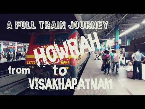 Howrah to Visakhapatnam by HWH-YPR SF Express || A full train Journey from Howrah to Visakhapatnam
