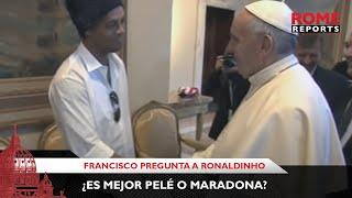 Francisco estuvo con Ronaldinho y se refirió al famoso bidón del 90