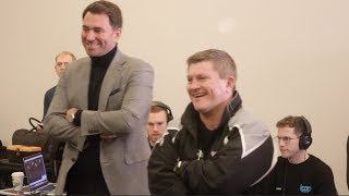 'THERES ONLY ONE RICKY HATTON!' CROWD EMBRACE NELSON, KELL BROOK, KEVIN MITCHELL & RICKY HATTON