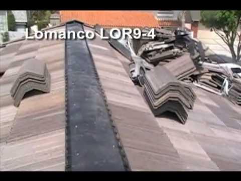 Lomanco Lor9 4 Ridge Vent Flat Tile Roof Installation