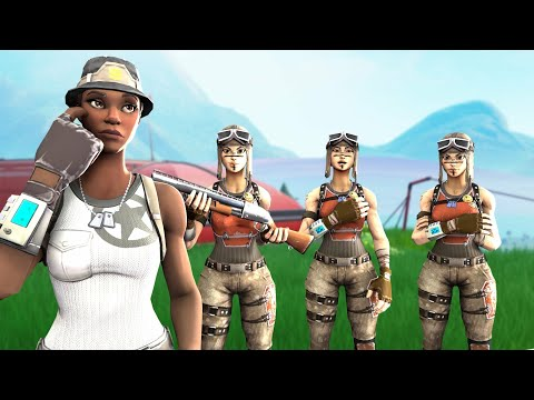 I Tried Out For A TOXIC RENEGADE RAIDER Clan Using *RECON EXPERT*