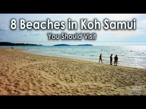 8 Beaches in Koh Samui, You Should Visit อำเภอเกาะสมุย