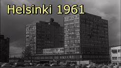 Bus station and city views, Helsinki 1961