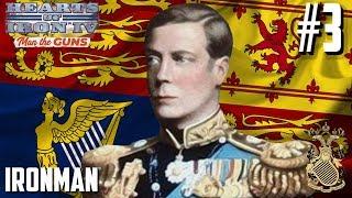 БРИЦКРИГ И КОРОНАЦИЯ УОЛЛИС! - Hearts of Iron IV Man The Guns (Великобритания) #3